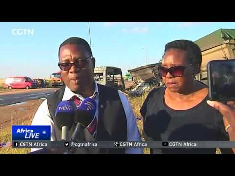 Driver of minibus and 19 children perish in horrific accident in South Africa