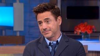 Robert Downey Jr. on Gwenth Paltrow's 'Wimp' Comment, 'Iron Man 3' Success