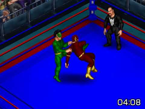 Weather Wizard vs Flash III Fire Pro Wrestling Returns