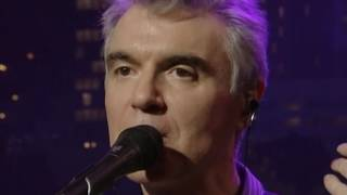 Watch David Byrne Life During Wartime Live video