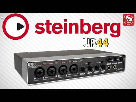 STEINBERG UR44 аудиоинтерфейс с 6 входами и 4 выходами и DSP микшером