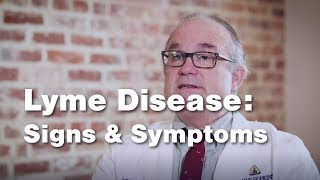 Lyme Disease Signs and Symptoms - Johns Hopkins - (2 of 5)
