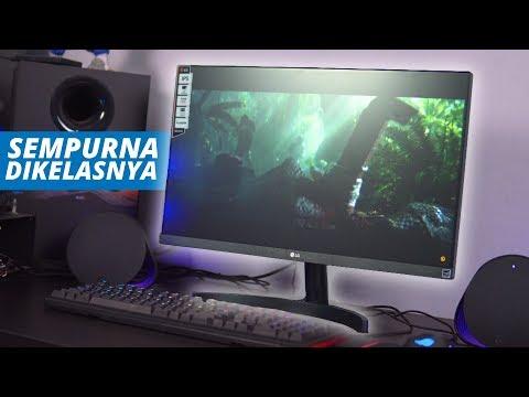1,9 JUTAAN! Monitor Tanpa Bezel MURAH! (LG 24MK600)