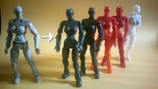 Reproducing your sculpted figure. Method 01