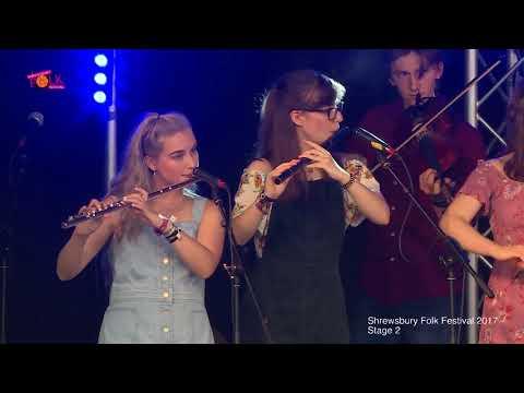 The National Youth Folk Ensemble at Shrewsbury Folk Festival 2017