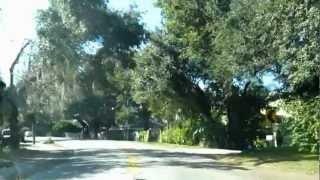 № 425 США Hoffner avenue Orlando Fl живописная дорога между озерами