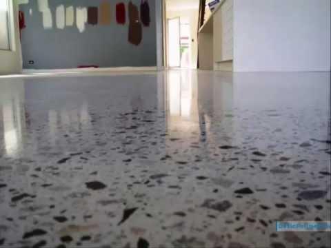 шлифованного бетона