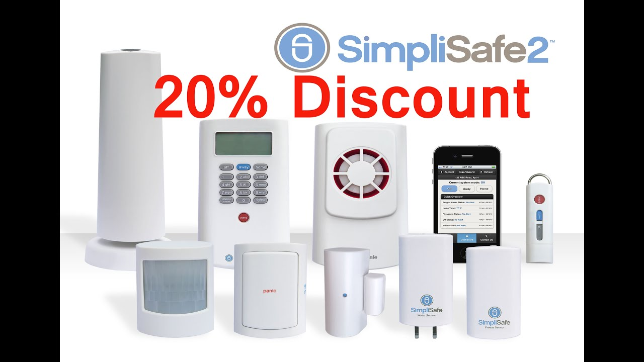 simplisafe2 wireless home security system best wireless home security system simplisafe2. Black Bedroom Furniture Sets. Home Design Ideas