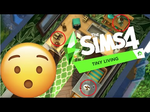 SIMS 4 TINY LIVING - CLUES IN TRAILER?? FIRST REACTION |