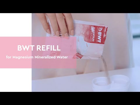 How To Use – BWT REFILL For Magnesium Mineralized Water