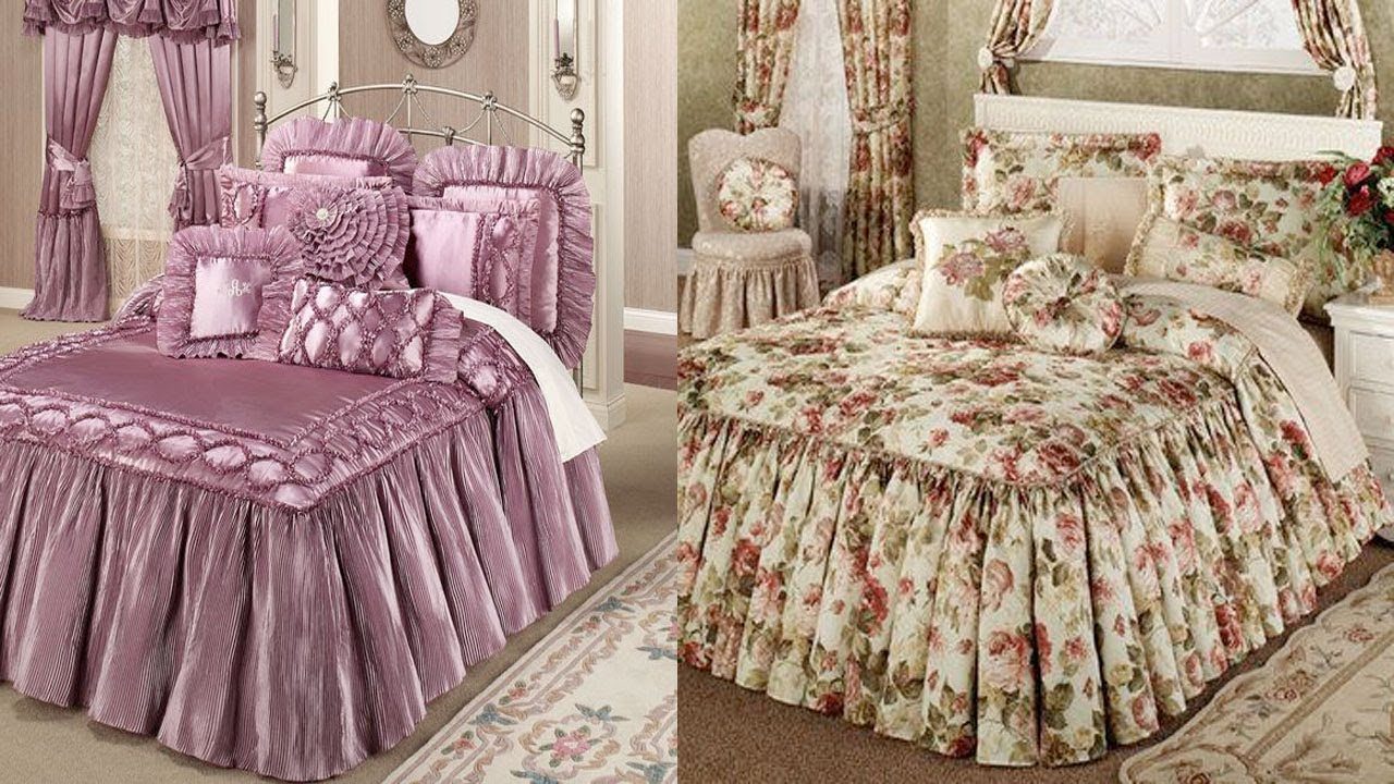 BED SHEET DESIGN 2018 COLLECTION IN PAKISTAN || LATEST BRIDAL BED SHEET  DESIGN IDEAS