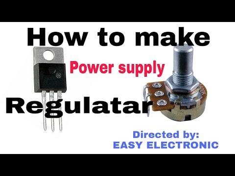 how to make a voltage regulator