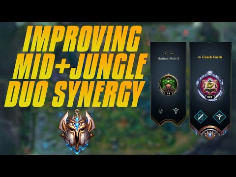 Improving Your MID + JUNGLE Duo Synergy - How To Carry As A Duo In Ranked - Using Examples