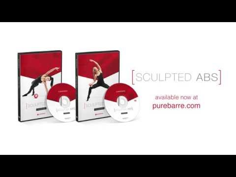 NEW Pure Barre Sculpted Abs DVDs