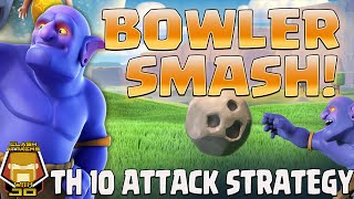 TH 10 vs TH 10 Bowlers in Action for 3s | Clash of Clans