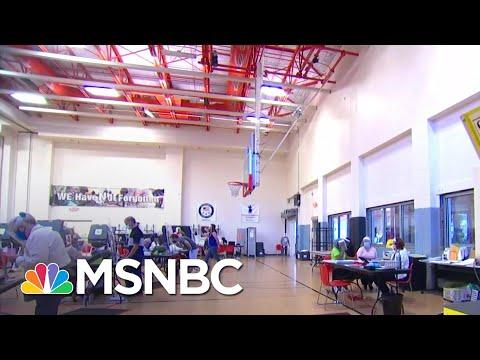 Fed. Court Rules Against GOP Suit To Limit Drive-Thru Voting | Katy Tur | MSNBC