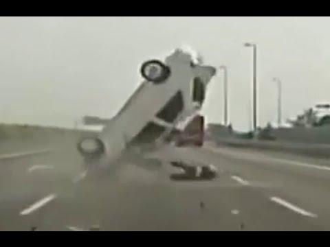 Scary car crash compilation 5. Brutal car crashes. Viewer discretion is advised