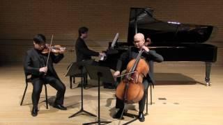 """Voertman Piano Trio playing Dvorak Piano Trio No.4 """"Dumky"""" 4 mov"""