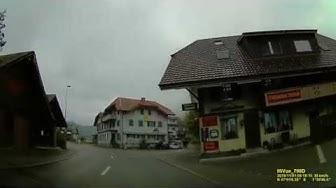 CH: Gemeinde Hasle bei Burgdorf. Kanton Bern. Ortsdurchfahrt. November 2019