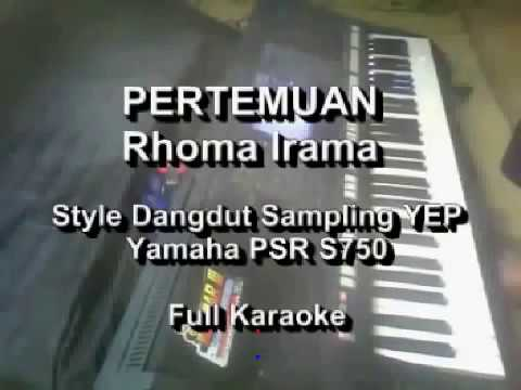 Pertemuan Rhoma Irama Karaoke Yamaha PSR S750