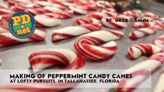 #47 Making hand made candy canes and a little history about Candy Canes