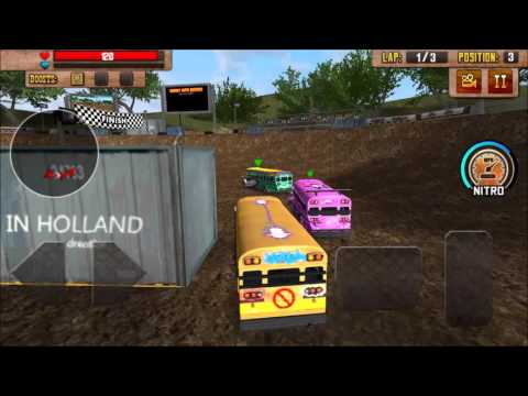 School Bus Demolition Derby Game-play Trailer