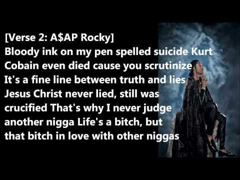 Asap Rocky - Phoenix Lyrics