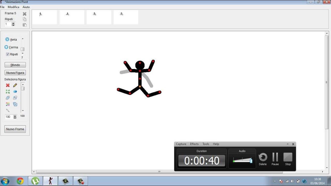 animazioni pivot da