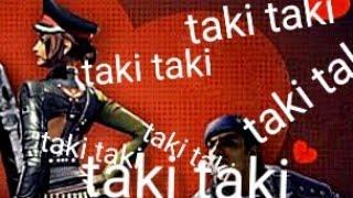 Taki Taki Free fire dance (emote)