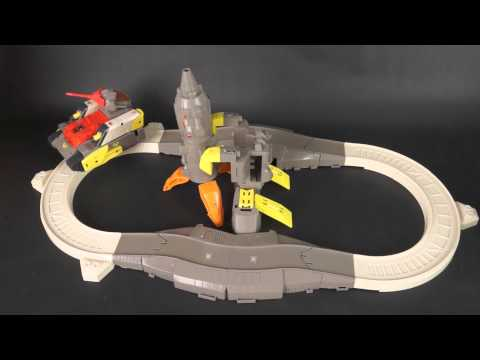 Transformers Omega Supreme guards the space rocket!