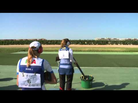 Women's Trap final round - Abu Dhabi 2013 ISSF World Cup Final