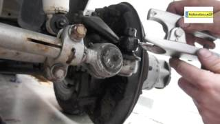 BALL JOINT REMOVAL TOYOTA LAND CRUISER FJ45