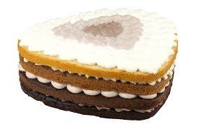 Торт Омбре шоколадный. Вкусный, нежный, из доступных ингредиентов