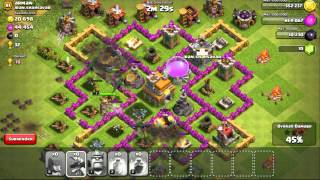 [Dyson Lin] Clash of Clans Level 81 - Upgrading 3rd Mortar to Level 6