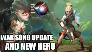 warsong update for the global server and new hero hwesta