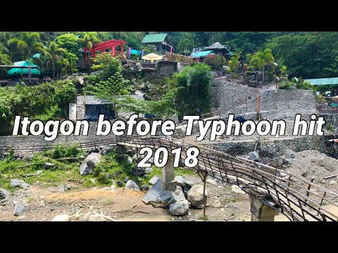 Itogon before Typhoon Ompong hit 2018 Mountain View Resort