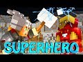 Minecraft | SUPERHERO RUMBLE - Superhero Boxing! (SuperHero Mod & Lucky Block Mod)