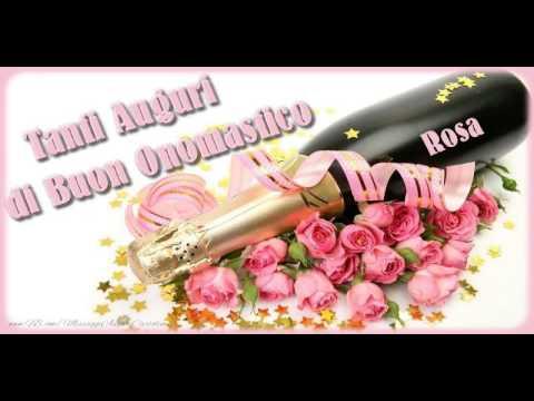 Tantissimi Auguri Di Buon Onomastico Rosa