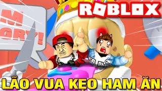 Roblox | KIA VAMY XỬ ĐẸP LÃO VUA KẸO HAM ĂN - Stop King Candy | KiA Phạm