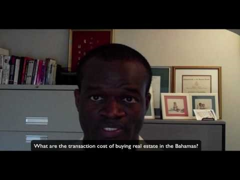 Bahamas Real Estate FAQ Q#3 Cost of buying real estate property in The Bahamas?