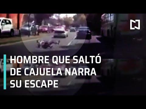 Hombre que saltó de cajuela narra cómo logró escapar - Las Noticias