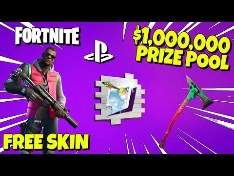$1,000,000 MILLION DOLLAR CUP + FREE SKIN & REWARDS - PlayStation Celebration Cup In Fortnite