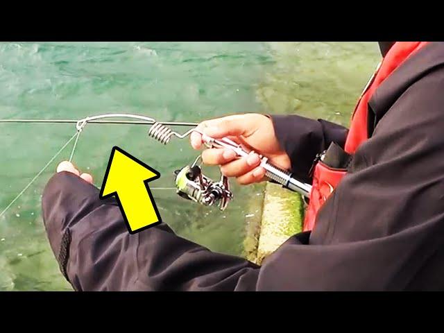 【特殊】短かすぎる釣り竿で釣りしてみた