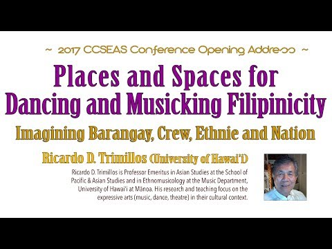 Places and Spaces for Dancing and Musicking Filipinicity