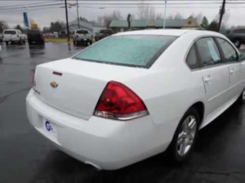 Graff Chevy >> 2012 White Chevy Impala LT for sale Davison MI - YouTube