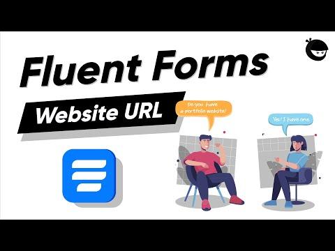 Add Website URL Input Field in Online Forms | WP Fluent Forms