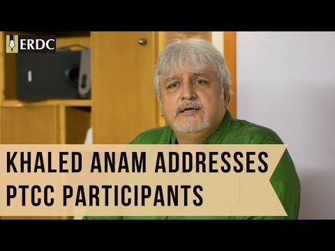 Khaled Anam Addresses PTCC Participants