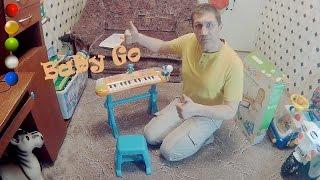 Детский синтезатор с микрофоном BabyGo Обзор Распаковка Сборка Инструкция Цена