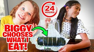 Biggy Norris Picks What I Eat For The Whole Day!! | Txunamy