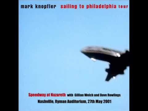 Mark Knopfler - Speedway at Nazareth LIVE (with Gillian Welch and Dave Rowlings)